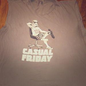 American Apparel 3XL Storm Trooper shirt